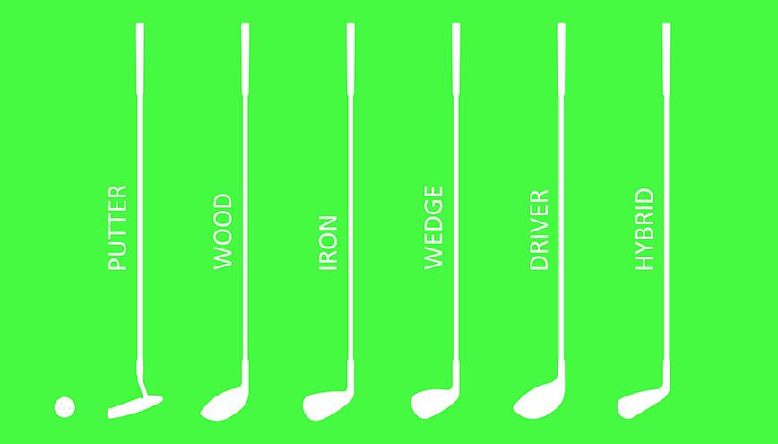 Golf Club Starter Set or Individual Golf Clubs